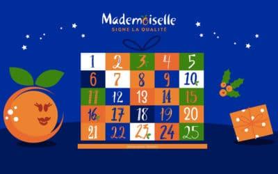 Grand calendrier de l'Avent Mademoiselle