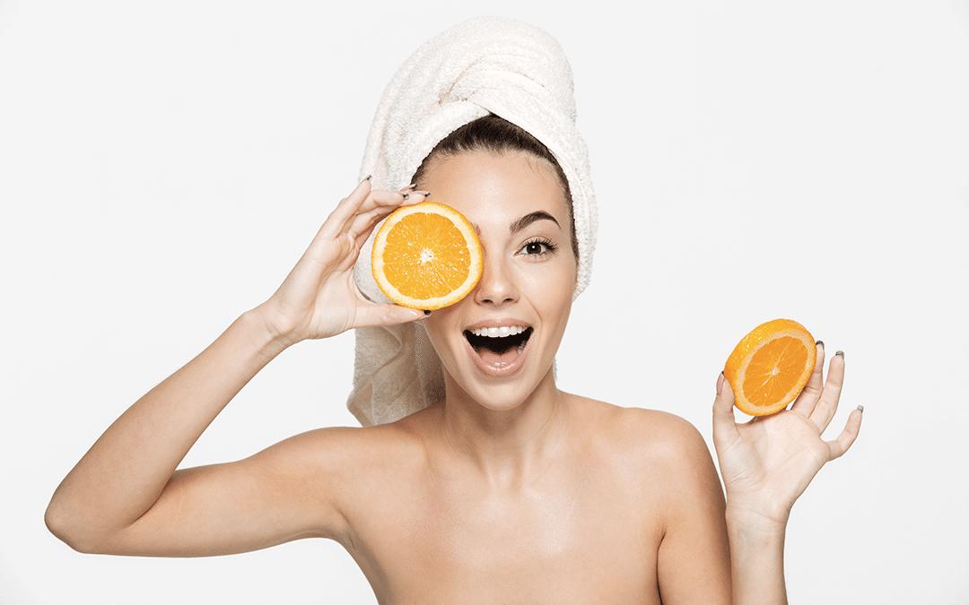 utiliser orange pour le soin de la peau
