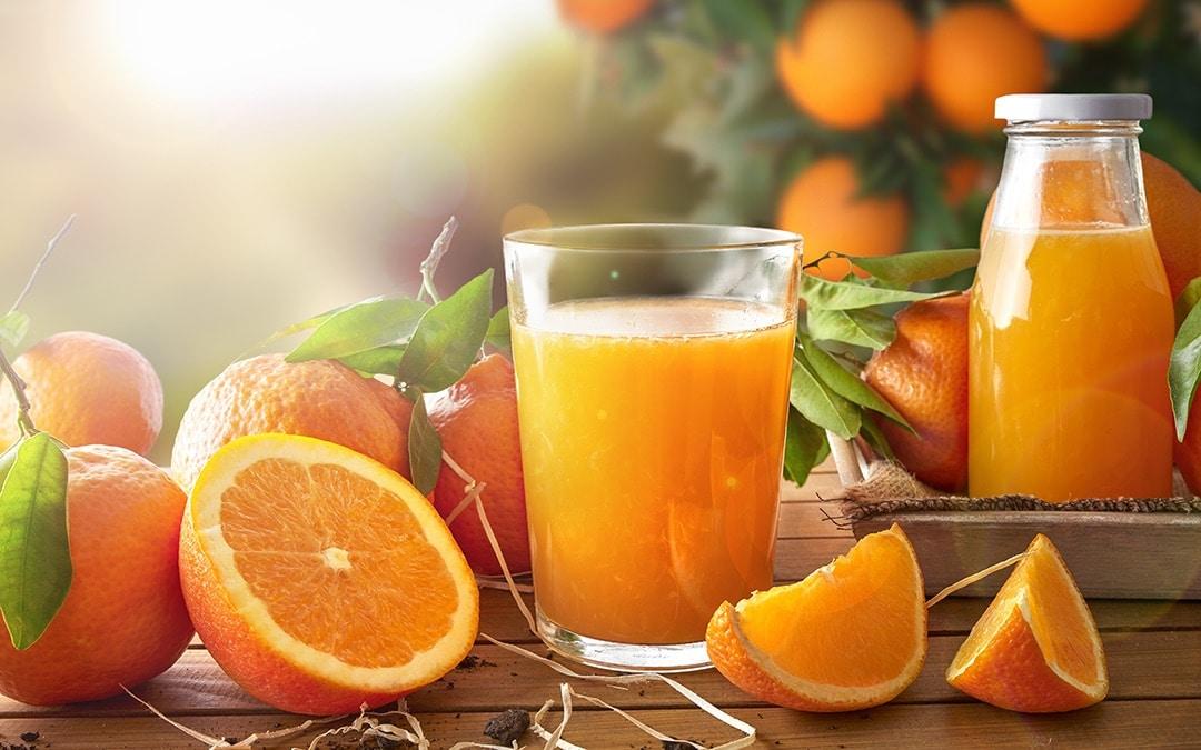 jus d'orange mademoiselle agrumes