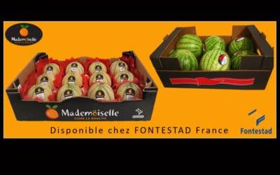 Lancement Melon charentais marque Mademoiselle et Pastèque sans pépins